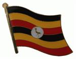 Pin Uganda 20 x 17 cm
