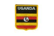 Wappenaufnäher Uganda