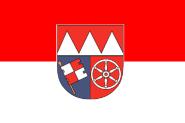 Fahne Unterfranken 60 x 90 cm