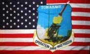 Fahne USA Tomahawk 90 x 150 cm