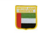 Wappenaufnäher Vereinigte Arabische Emirate VAE