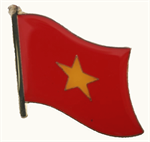 Pin Vietnam 20 x 17 mm