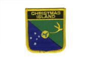 Wappenaufnäher Weihnachtsinseln