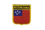 Wappenaufnäher West Samoa