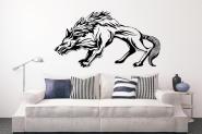 Wandtattoo Wolf Motiv Nr. 1 schwarz | XXL