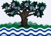 Miniflag Worcestershire 10 x 15 cm