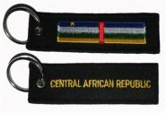 Schlüsselanhänger Zentral-Afrikanische-Republik