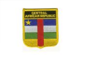 Wappenaufnäher Zentral Afrikanische Republik