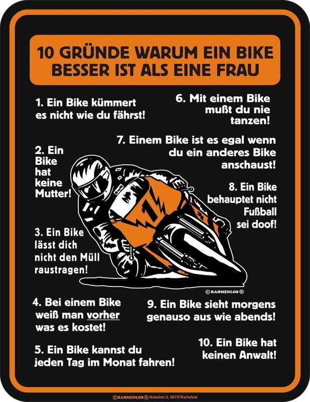 Lustige biker sprüche