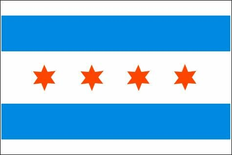 Chicago Flagge
