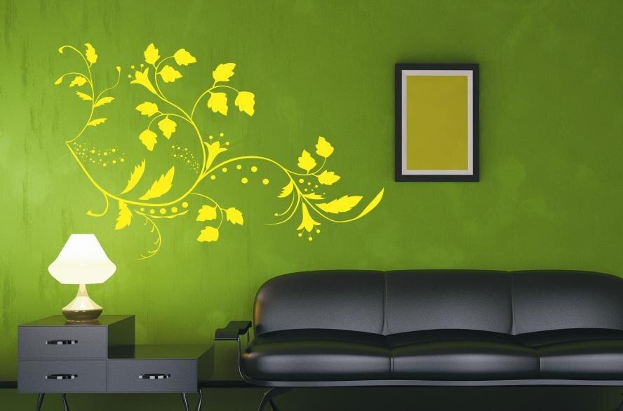 wandtattoo floral ornament motiv nr 4. Black Bedroom Furniture Sets. Home Design Ideas