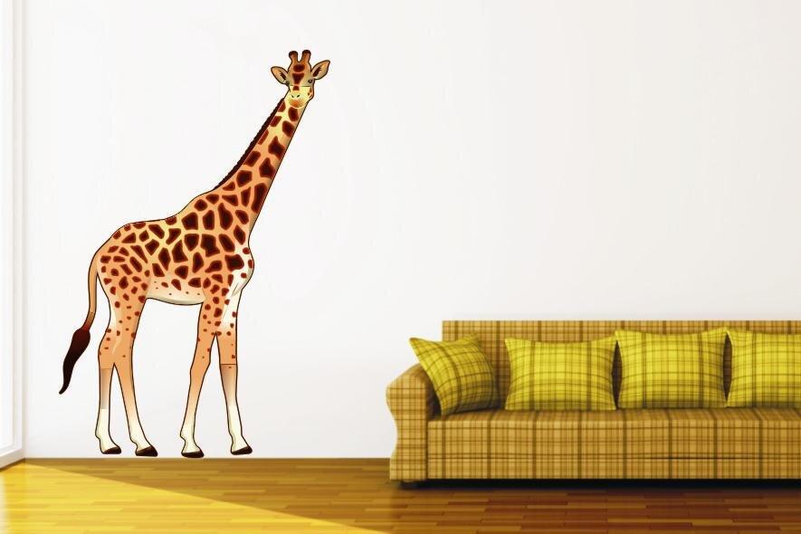 wandtattoo giraffe color motiv nr 1. Black Bedroom Furniture Sets. Home Design Ideas