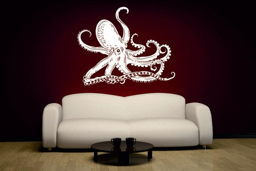 wandtattoo octopus krake motiv nr 2. Black Bedroom Furniture Sets. Home Design Ideas