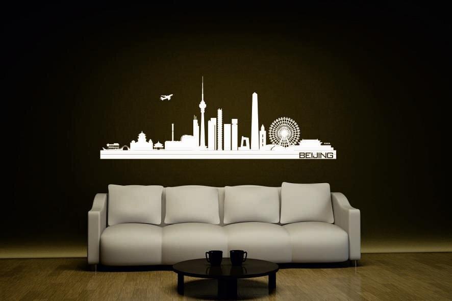wandtattoo beijing peking skyline. Black Bedroom Furniture Sets. Home Design Ideas