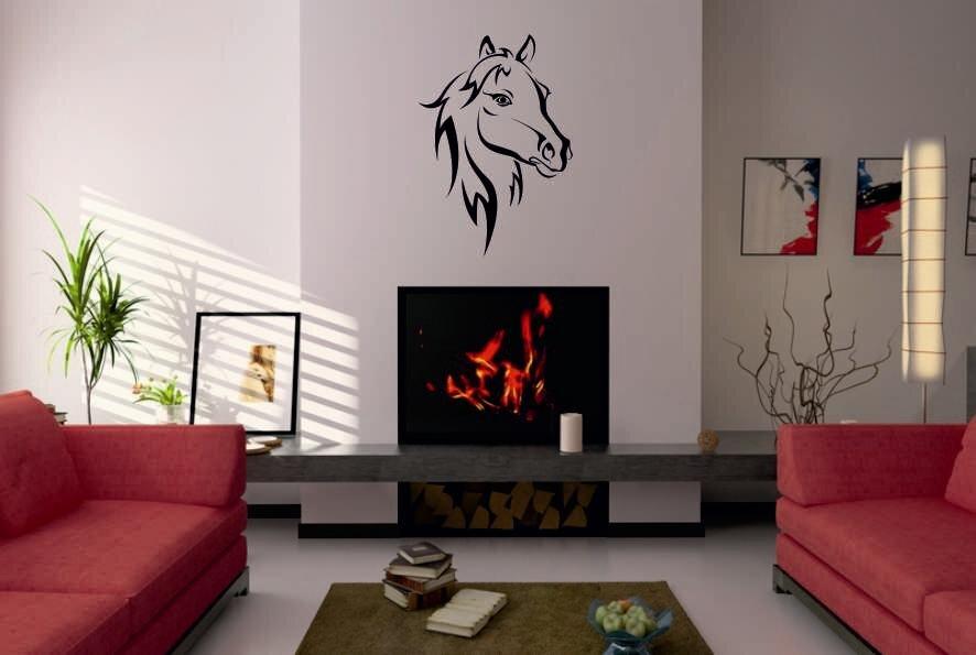 wandtattoo pferdekopf motiv nr 2. Black Bedroom Furniture Sets. Home Design Ideas