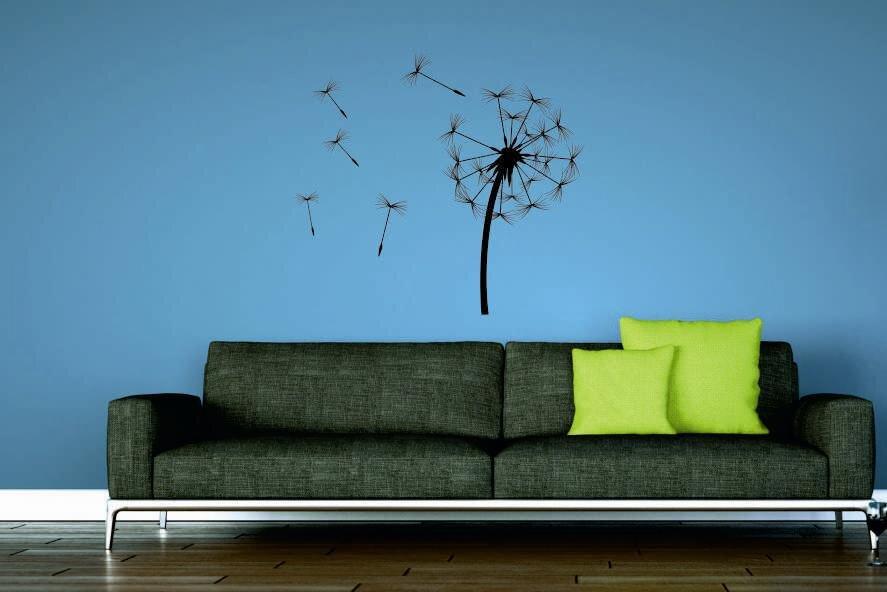 wandtattoo pusteblume. Black Bedroom Furniture Sets. Home Design Ideas