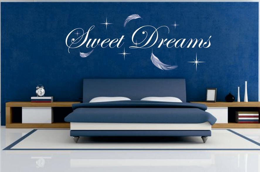 wandtattoo sweet dreams. Black Bedroom Furniture Sets. Home Design Ideas